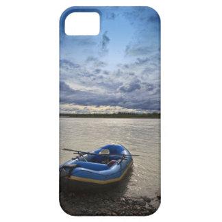 Transportando en balsa en el río de Talkeetna, iPhone 5 Carcasa