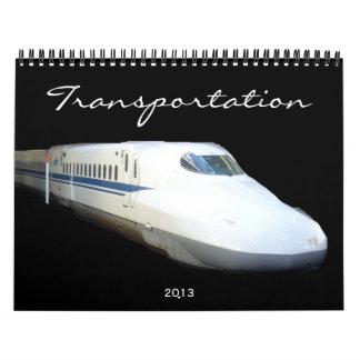 transportation 2013 calendar