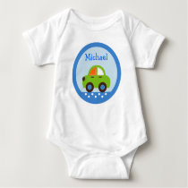 Transportation Car Baby Birthday T-Shirt