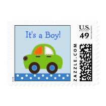 Transportation Car Personalized Postage Stamps