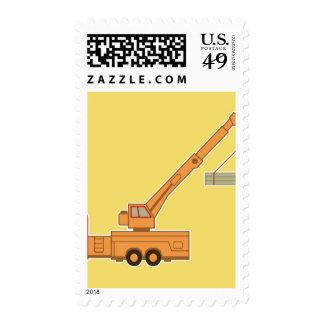 Transportation Crane - Yellow Stamps