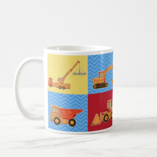 Transportation Heavy Equipment – Collage Coffee Mug