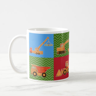Transportation Heavy Equipment - Collage Coffee Mug