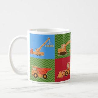 Transportation Heavy Equipment - Collage Coffee Mug