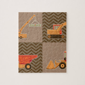 Transportation Heavy Equipment – Collage Jigsaw Puzzle