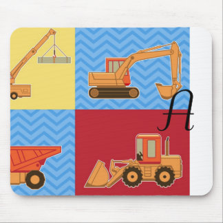 Transportation Heavy Equipment – Collage Mousepad