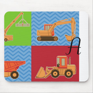 Transportation Heavy Equipment – Collage Mouse Pads