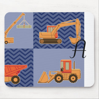 Transportation Heavy Equipment – Collage Mouse Pad