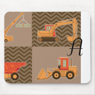 Transportation Heavy Equipment – Collage Mousepads