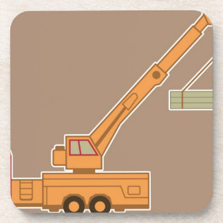 Transportation Heavy Equipment Crane – Brown Coasters