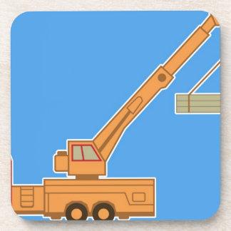 Transportation Heavy Equipment Crane Beverage Coaster