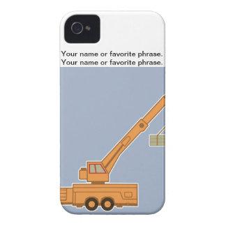 Transportation Heavy Equipment Crane iPhone 4 Case