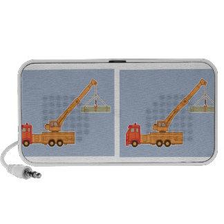 Transportation Heavy Equipment Crane Portable Speaker
