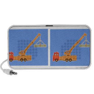 Transportation Heavy Equipment Crane PC Speakers