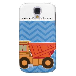 Transportation Heavy Equipment Dump Truck - Blue Samsung S4 Case