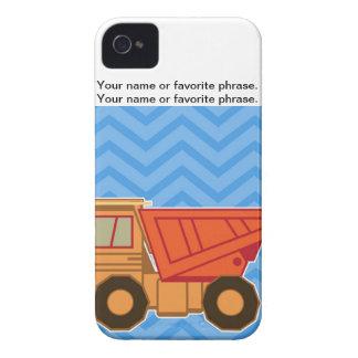 Transportation Heavy Equipment Dump truck iPhone 4 Cases