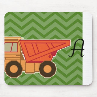 Transportation Heavy Equipment Dump Truck Mouse Pad