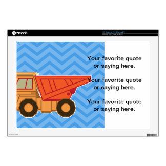 """Transportation Heavy Equipment Dump Truck Skins For 17"""" Laptops"""