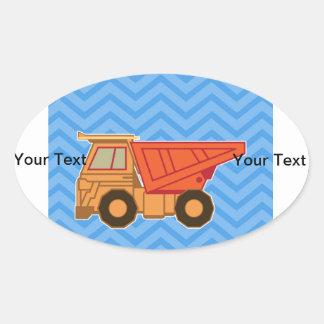 Transportation Heavy Equipment Dump truck Sticker
