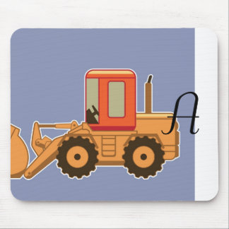 Transportation Heavy Equipment Payloader - Blue Mouse Pad