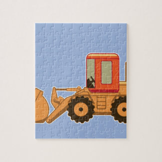 Transportation Heavy Equipment Payloader Jigsaw Puzzle