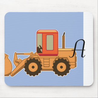 Transportation Heavy Equipment Payloader Mousepads