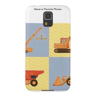Transportation Heavy Equipments -Plain and Chevron Galaxy S5 Case