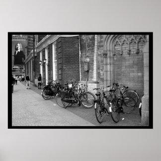 Transportation in Amsterdam Print