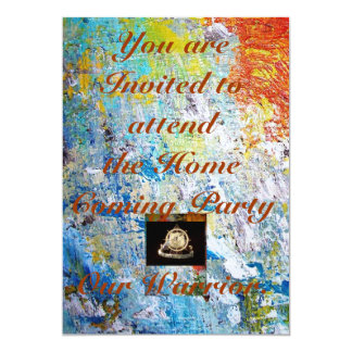 Transportation Invatation: Home Coming Party Card