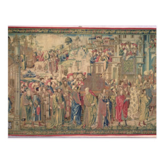 Transportation of the Ark of the Covenant, Tapestr Postcard