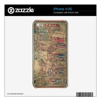 Transportation of the Ark of the Covenant, Tapestr Skin For iPhone 4S