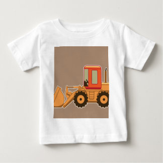 Transportation, Payloader heavy equipment - Brown Baby T-Shirt