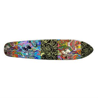 transportation skateboard deck
