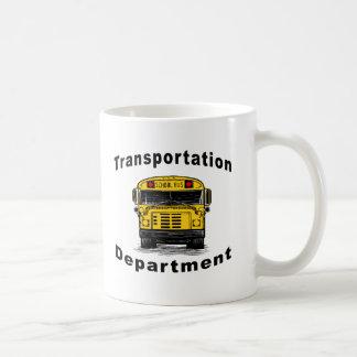 transportationdepartmentmug tazas de café
