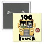 Transporte 100 días de camisetas y de regalos de l pin