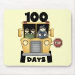 Transporte 100 días de camisetas y de regalos de l tapete de raton