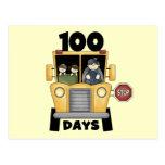 Transporte 100 días de camisetas y de regalos de postal