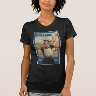 Transporte aéreo de Holanda del vintage Camiseta