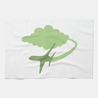 Transporte aéreo toalla