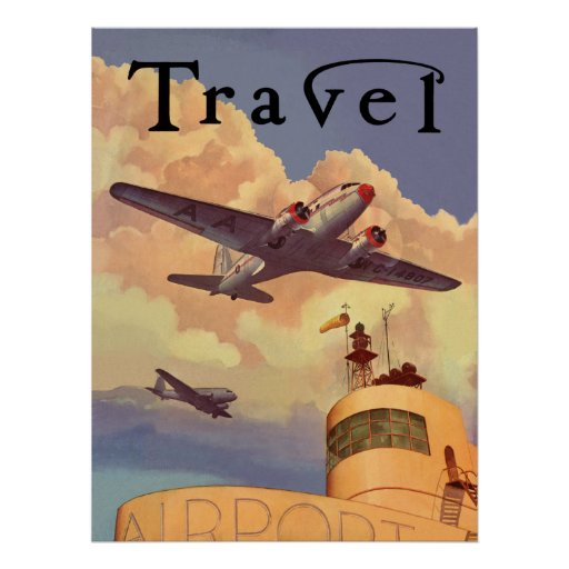 Transporte aéreo posters