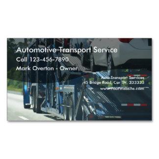 Transporte auto tarjetas de visita magnéticas (paquete de 25)