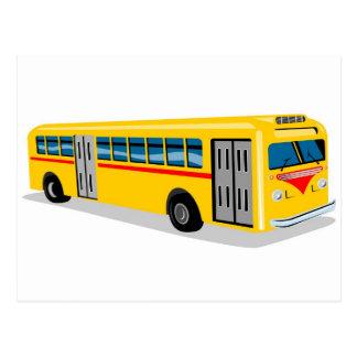 transporte de coche del bus turístico postal