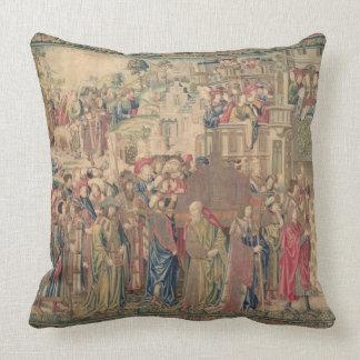 Transporte de la Arca de la Alianza, Tapestr Almohada