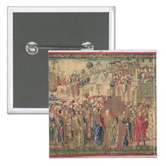 Transporte de la Arca de la Alianza, Tapestr Pins