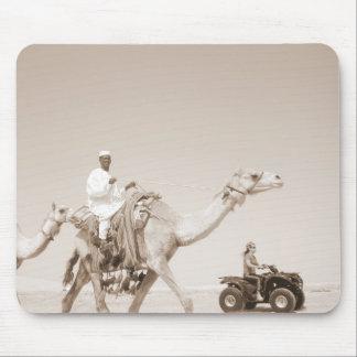 transporte del desierto mousepad