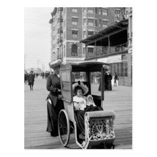 Transporte del paseo marítimo: 1905 tarjeta postal