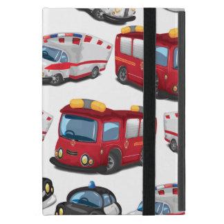 Transporte del servicio de la policía de la ambul