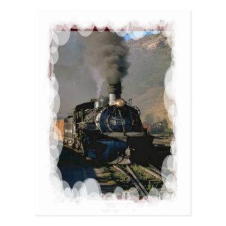 Transporte del vintage - cociendo al vapor a conti postal
