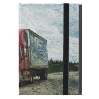 Transporte pesado del conductor de camión de los iPad mini cárcasa