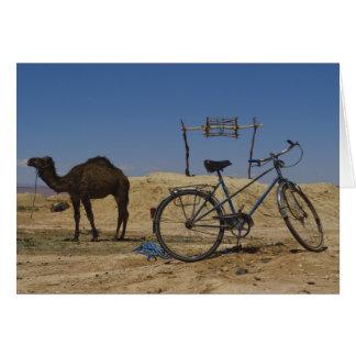 Transporte sostenible tarjeta de felicitación